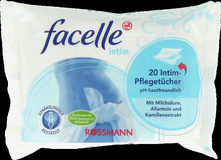 Rossmann, Facelle Intim, chusteczki do higieny intymnej – nowa wersja