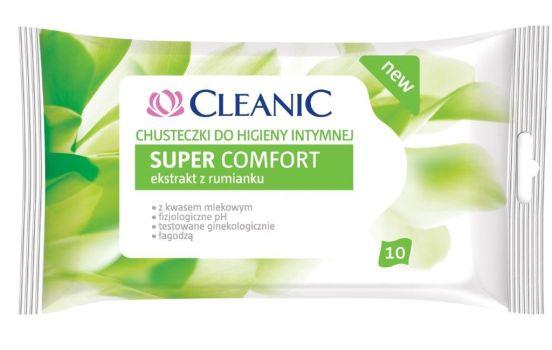 Super Comfort, chusteczki do higieny intymnej