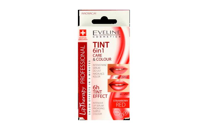 Eveline Cosmetics, Lip Therapy Professional, intensywne serum do ust nadające kolor