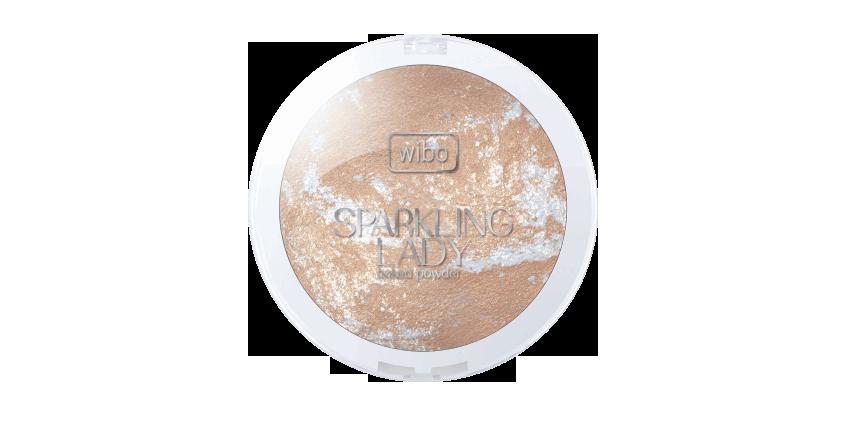 Wibo, Sparkling Lady, puder rozświetlający do twarzy i ciała
