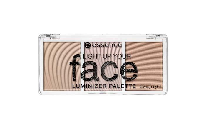 Essence Light Up Your Face Luminizer Palette, paletka rozświetlaczy: Ready, Set, Glow!