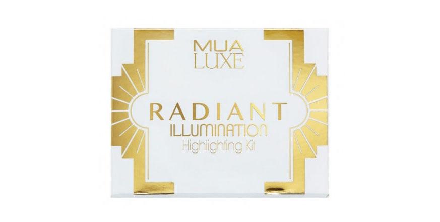Mua Luxe, Radiant Illumination, Highlighting Kit, zestaw rozświetlaczy (paletka)