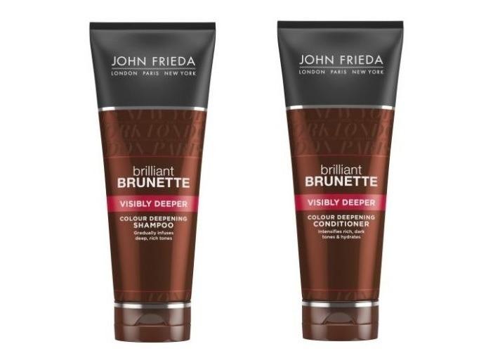 John Frieda, Brilliant Brunette, szampon i odżywka do włosów