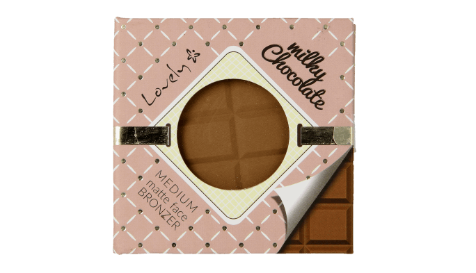 Lovely, Milky Chocolate Bronzer, puder brązujący