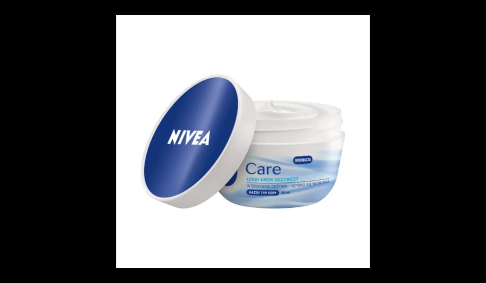 Nivea Care, lekki krem odżywczy do twarzy