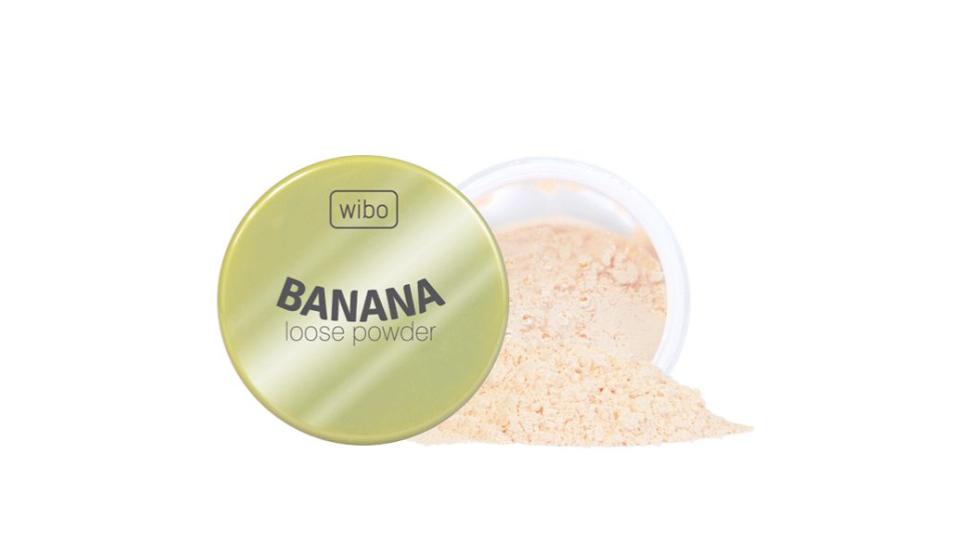 Wibo, Banana loose powder, puder sypki