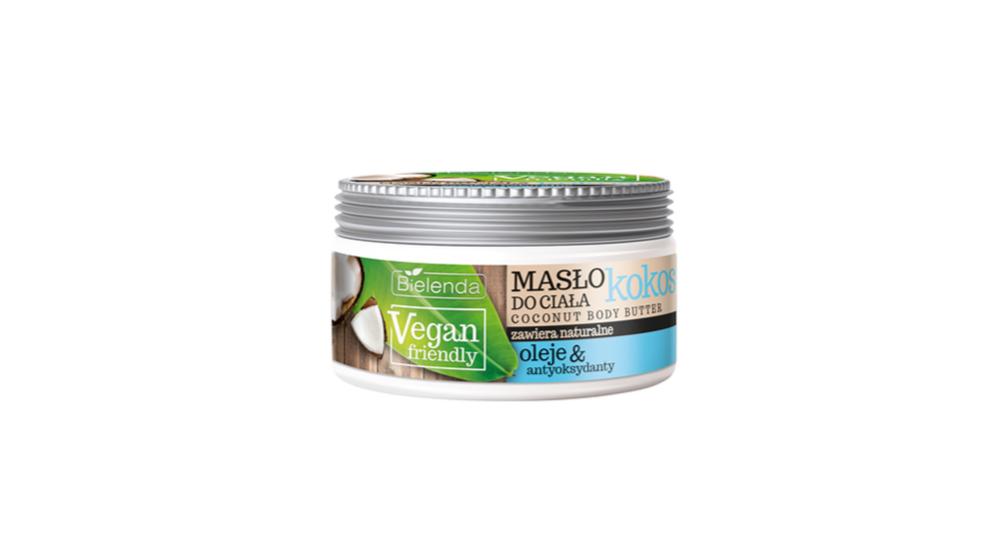 Bielenda, Vegan Friendly Coconut Body Butter, aksamitne kremowe masło do ciała wzbogacone o olej kokosowy