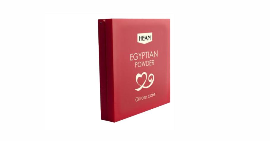 Hean, Egyptian Powder, puder brązujący do twarzy i ciała z olejkiem różanym, walentynkowa edycja limitowana