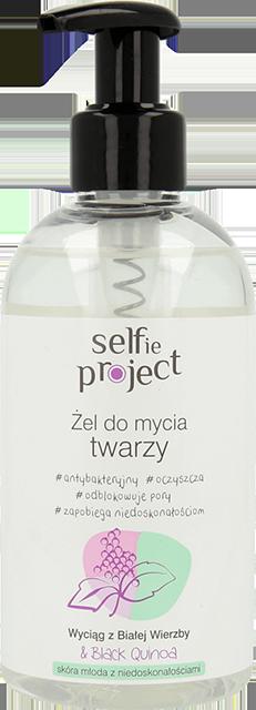 Selfie Project, żel do mycia twarzy