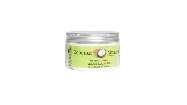 Efektima, Coconut Miracle, masło do ciała intensywnie pielęgnujące