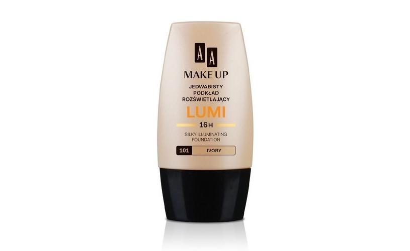 AA Make Up Lumi, jedwabisty podkład rozświetlający