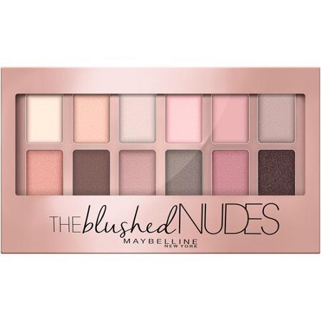 Maybelline, The Blushed Nudes, paleta cieni do powiek w odcieniach różu