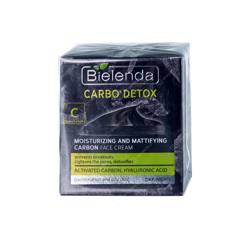 Bielenda, Carbo-Detox, nawilżająco-matujący krem węglowy