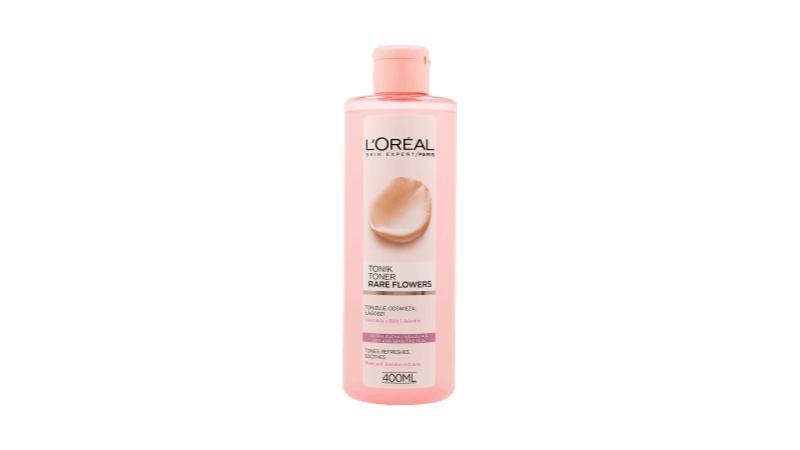 L'Oréal Paris, Skin Expert, tonik łagodzący z ekstraktami z róży oraz jaśminu