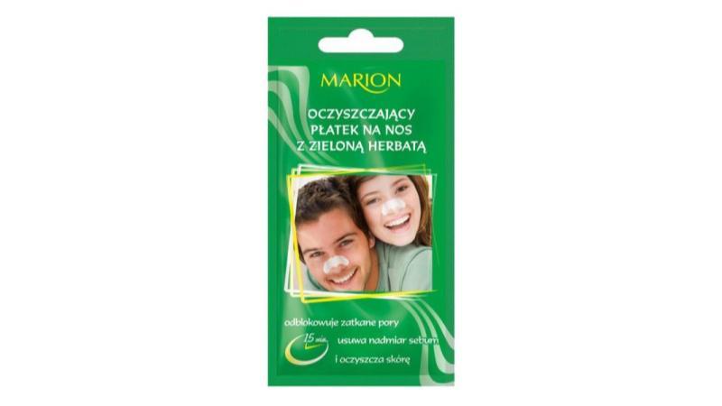 Marion, Oczyszczający płatek na nos z zieloną herbatą